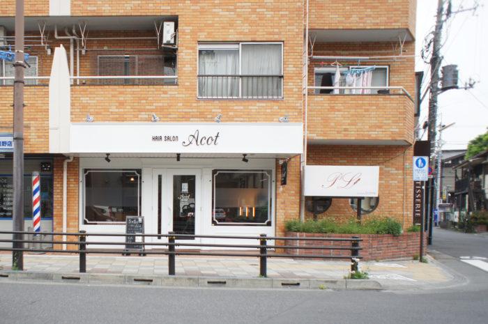 東京のヘアーサロン外観デザイン