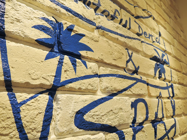 東京神奈川デザイン看板、サインポスト、歯医者、デンタルクリニック看板、ロンハーマン、西海岸、カリフォルニア