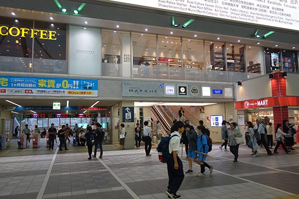 新百合ケ丘駅前バル